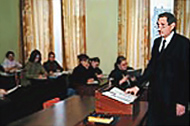 Post-graduate course, magistracy, doctoral course